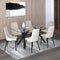 STARK BK/VENICE BEG-7PC DINING SET