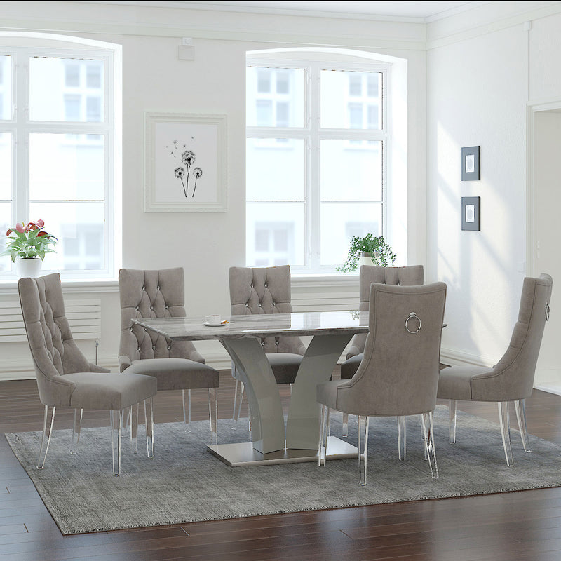NAPOLI GY/CAVALLI GY-7PC DINING SET