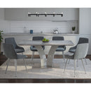 NAPOLI GY/CASSIDY GY-7PC DINING SET