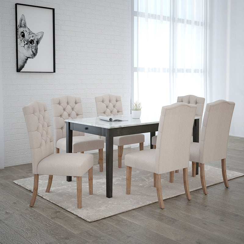 PASCAL/LUCIAN BG-7PC DINING SET