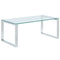 ZEVON-COFFEE TABLE-SILVER