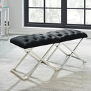 ALDO-SINGLE BENCH-BLACK/SILVER