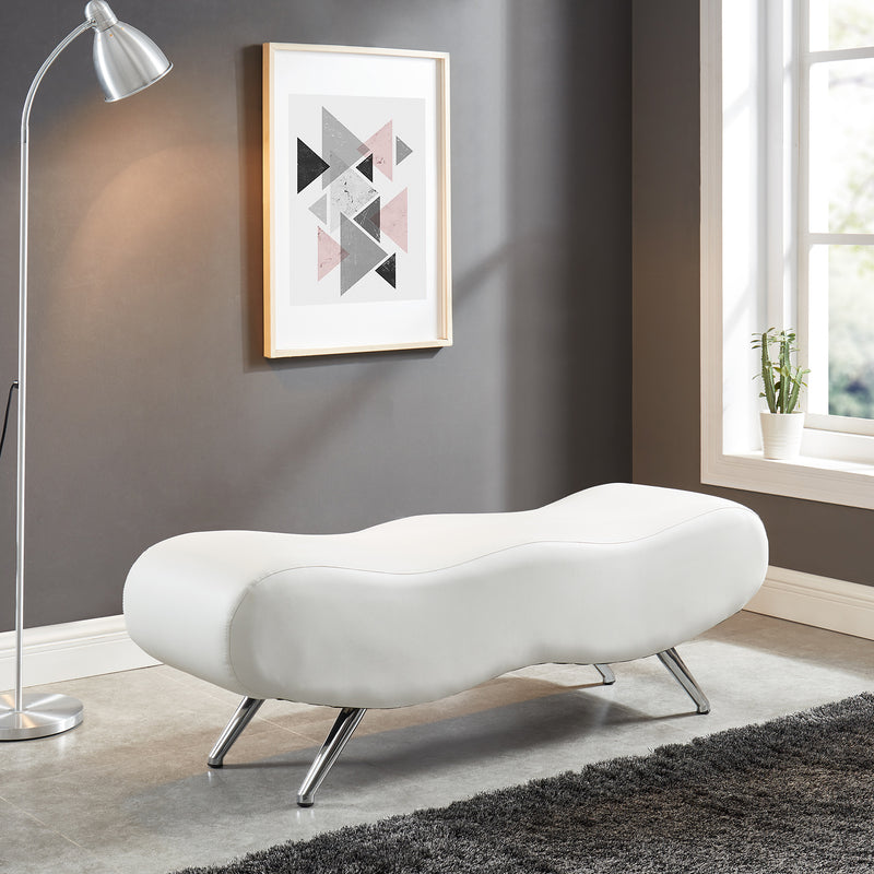 STEALTH II-BENCH-WHITE