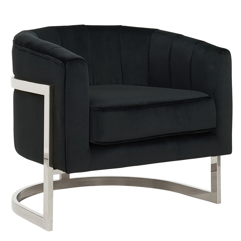 TARRA-ACCENT CHAIR-BLACK