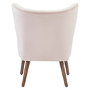 ELLE-ACCENT CHAIR-BLUSH PINK