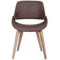 SERANO-ACCENT CHAIR-BROWN