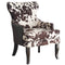 ANGUS-ACCENT CHAIR-BROWN