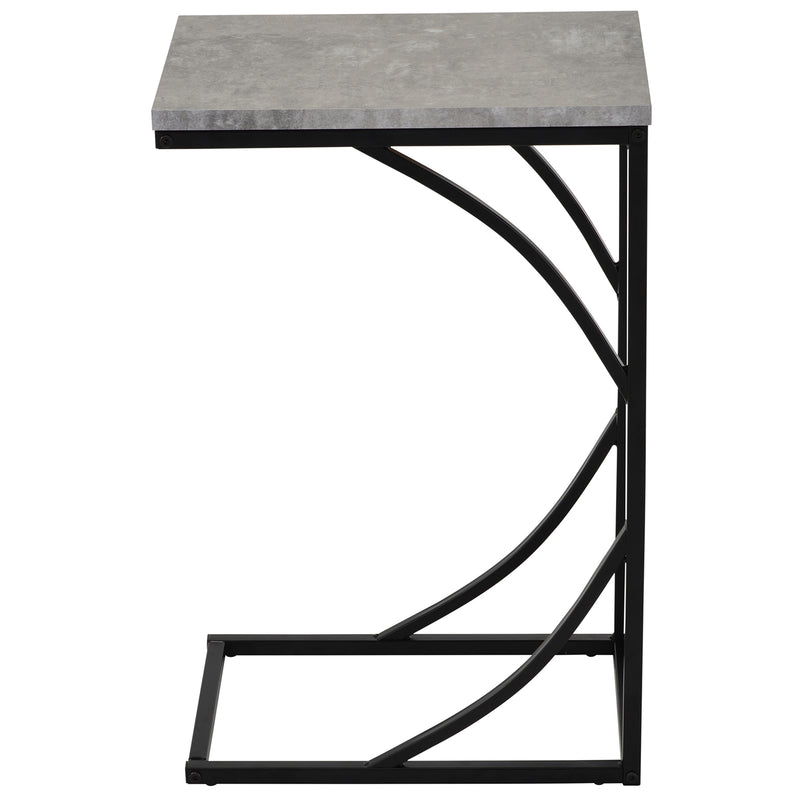 DARCY-ACCENT TABLE-CEMENT