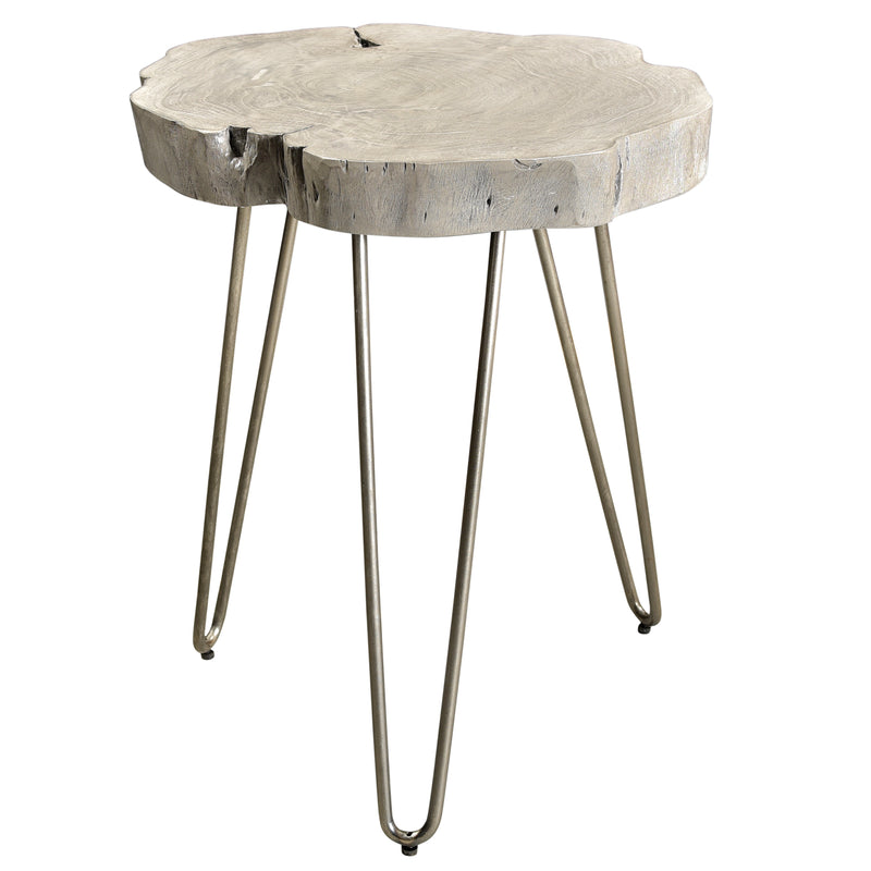 NILA-ACCENT TABLE-LIGHT GREY