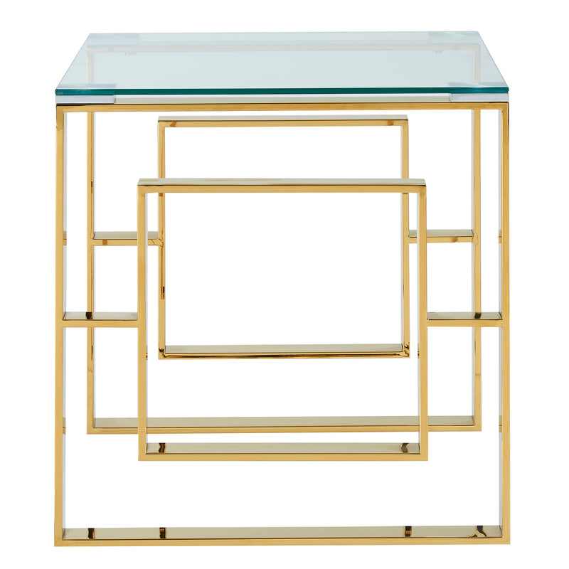 EROS-ACCENT TABLE-GOLD