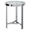 STRATA-ACCENT TABLE-CHROME