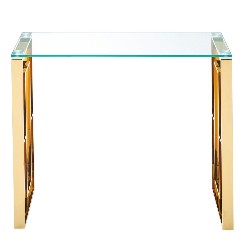 EROS-CONSOLE/DESK-GOLD