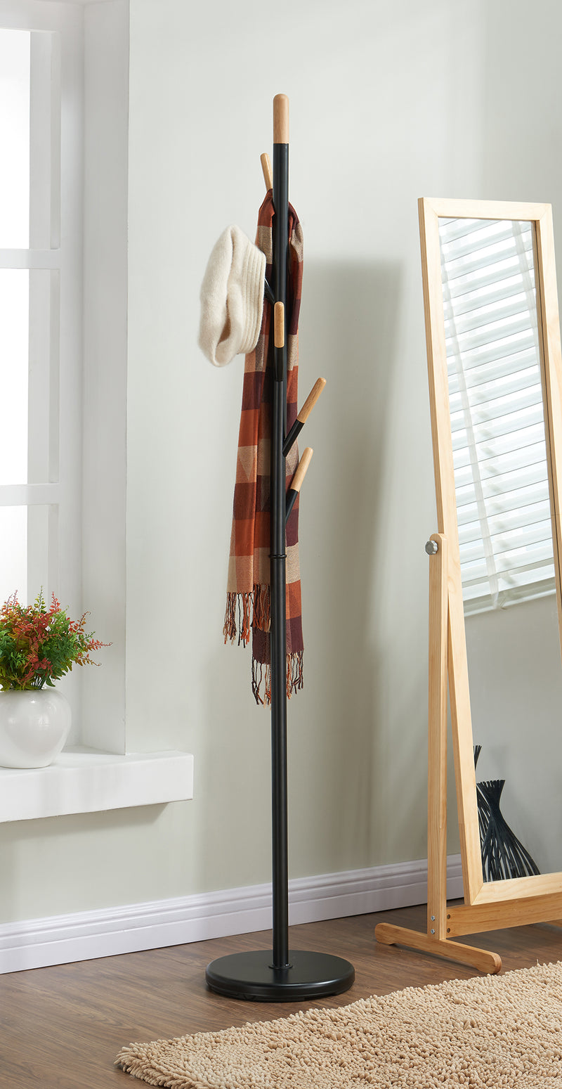 TENLEY-COAT RACK-BLACK