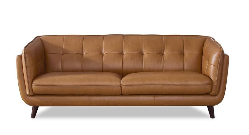 Allegro Top-Grain Leather Sofa Set