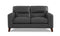 Miami Top-Grain Leather Sofa Set