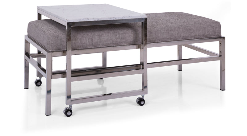 6842 Upholstered Bench - Customizable