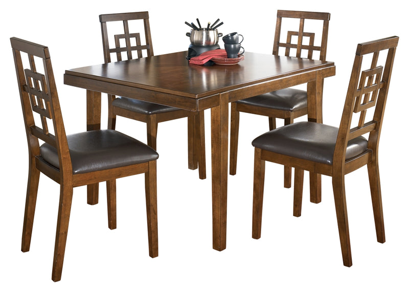 Cimeran Dining Room Table and Chairs (Set of 5)