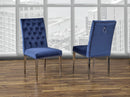 F457 REGAN DINING CHAIR BLUE