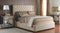 Fabric Headboard & Base 90 - Queen Bed - Customizable