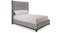 Headboard & Base 95 - King Bed - Customizable
