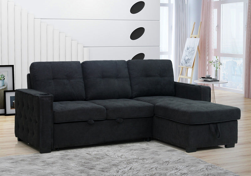 Cathy HSF Sleeper Sectional