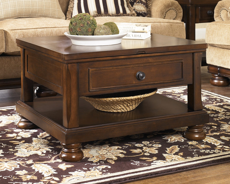 Porter Coffee Table with Lift Top