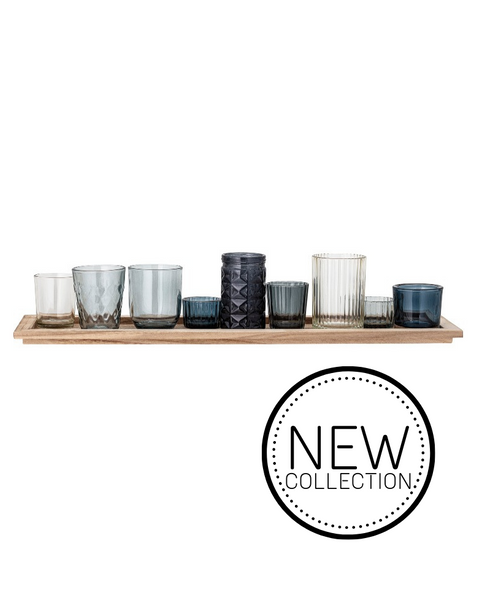 GLASSES // Decorative Blue Tray