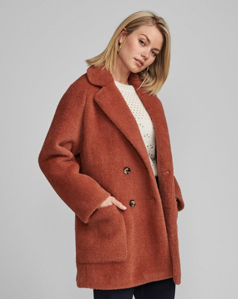 NUMPH // Nubay faux fur coat