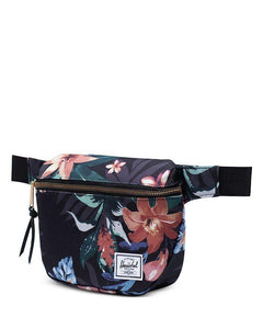 HERSCHEL // Fifteen flower black hip pack - Loja Real