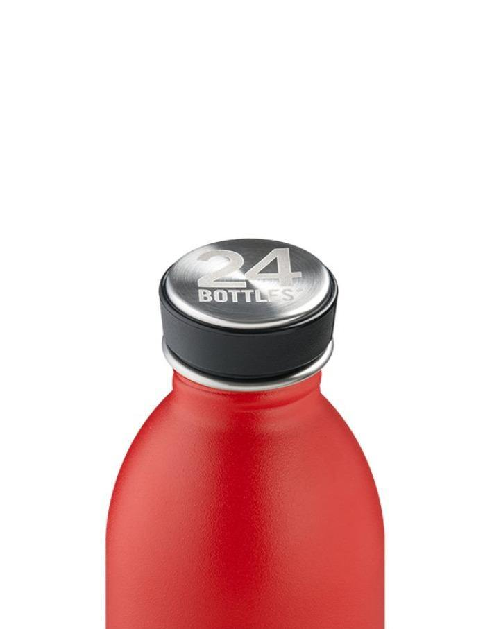 24 BOTTLES // Red Urban Bottle 500ml - Loja Real