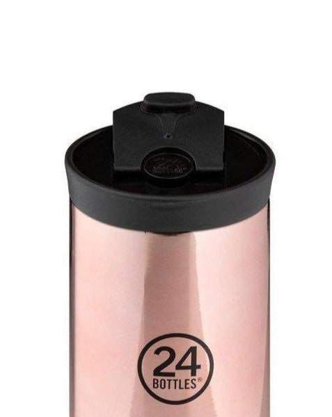 24 BOTTLES // Travel Tumbler Rose Gold - Loja Real