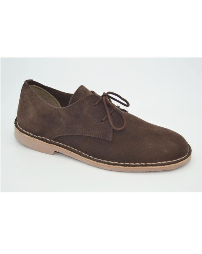 SAFARI SHOES // Brown suede - Loja Real