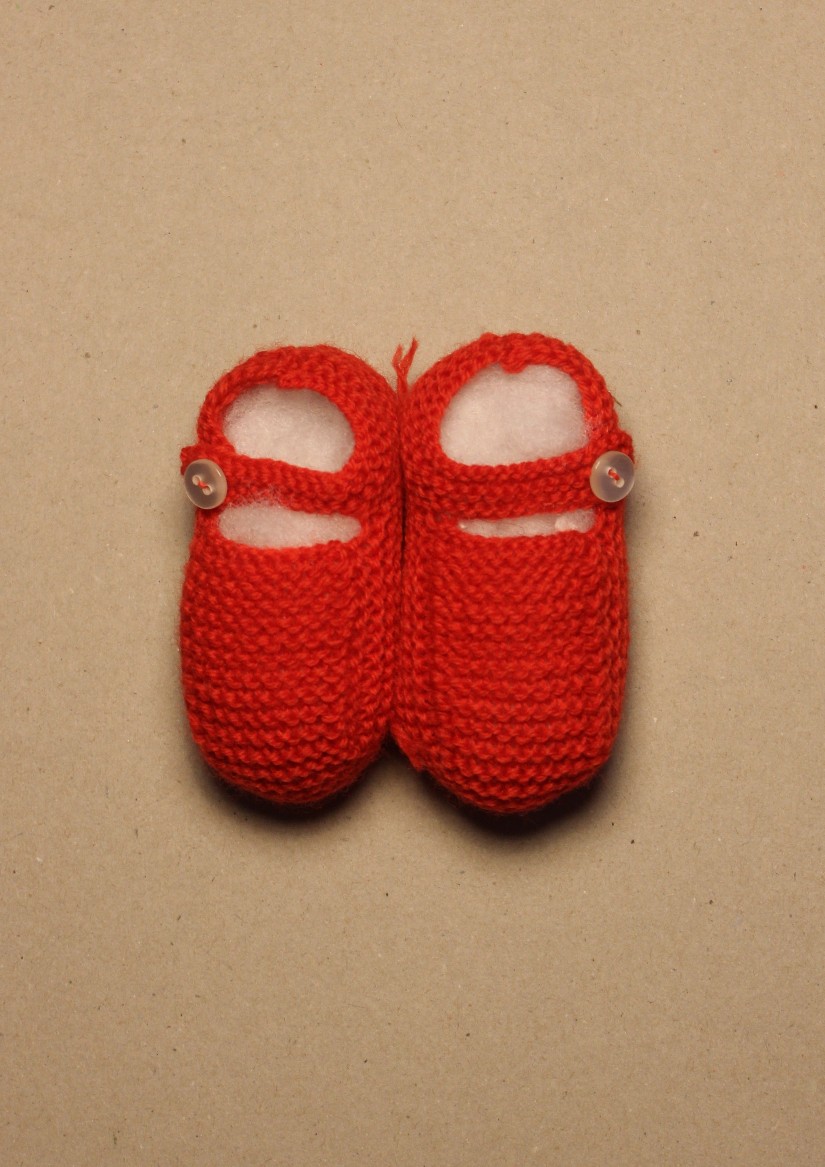 BABY // Knitted shoes