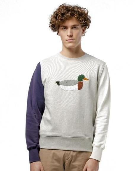 EDMMOND STUDIOS // Three colour duck sweater - Loja Real