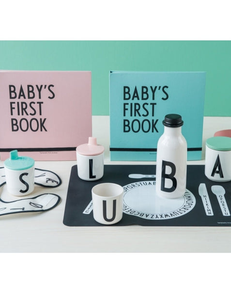 DESIGN LETTERS // Baby's first book