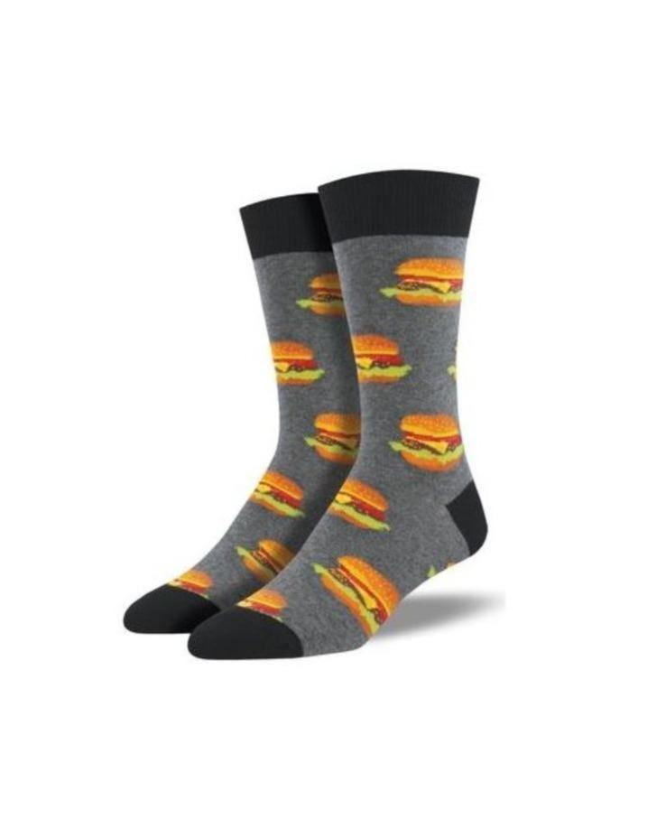 SOCKS // Burgers in grey - Loja Real