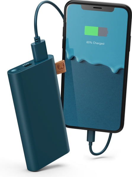 FRESH 'N REBEL // Petrol blue powebank
