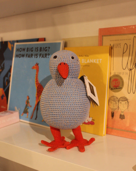 BLUE BIRD // Handmade crochet toy - Loja Real