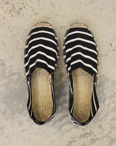 ALPERGATAS // Classic black stripes - Loja Real