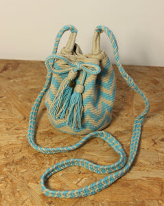 GUANABANA // Mini Blue ZigZag Crossbody