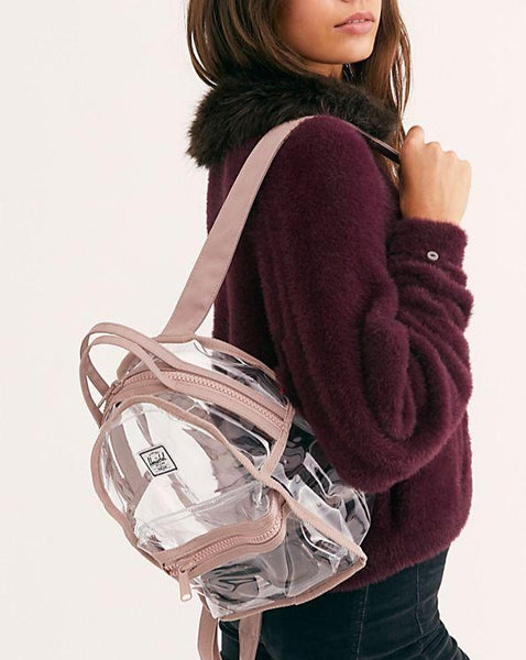 HERSCHEL // Nova Mini Clear Ash Rose