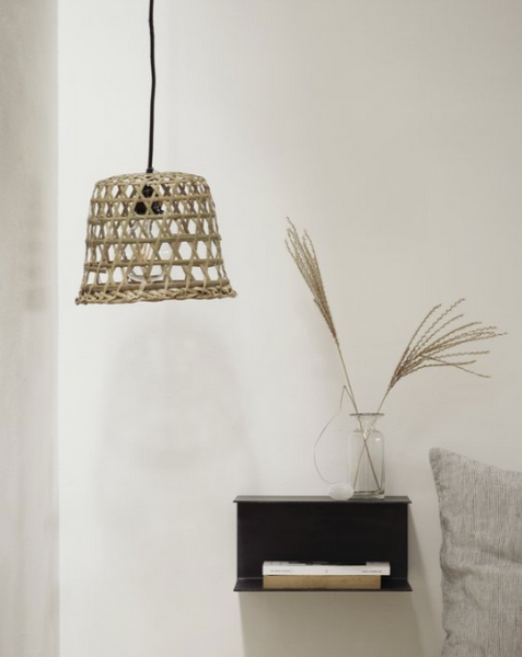 LAMPSHADE // Bamboo Basket small