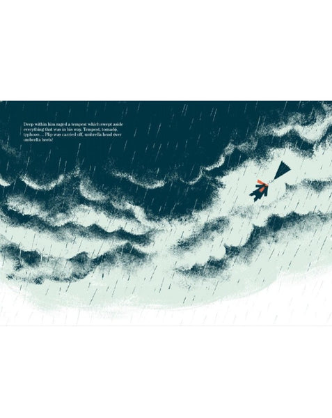 PLIP, THE UMBRELLA MAN // Illustrated by Thomas Baas