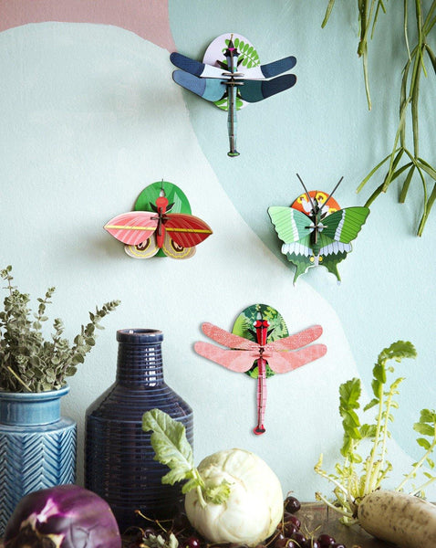 DRAGONFLY // 3D recycled cardboard - Loja Real