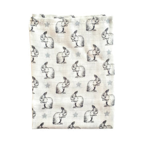 BRIKI // Bamboo swaddle rabbit
