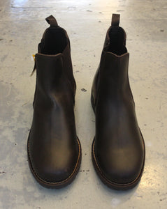 CHELSEA BOOTS // Dark brown leather - Loja Real