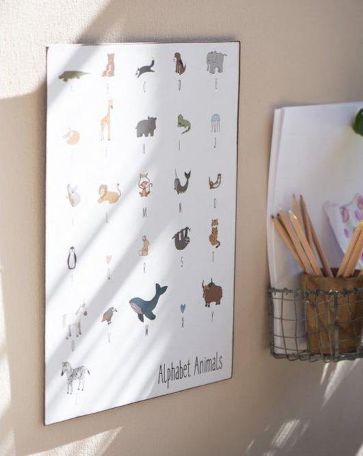 DECOR SIGN // Animal Alphabet - Loja Real