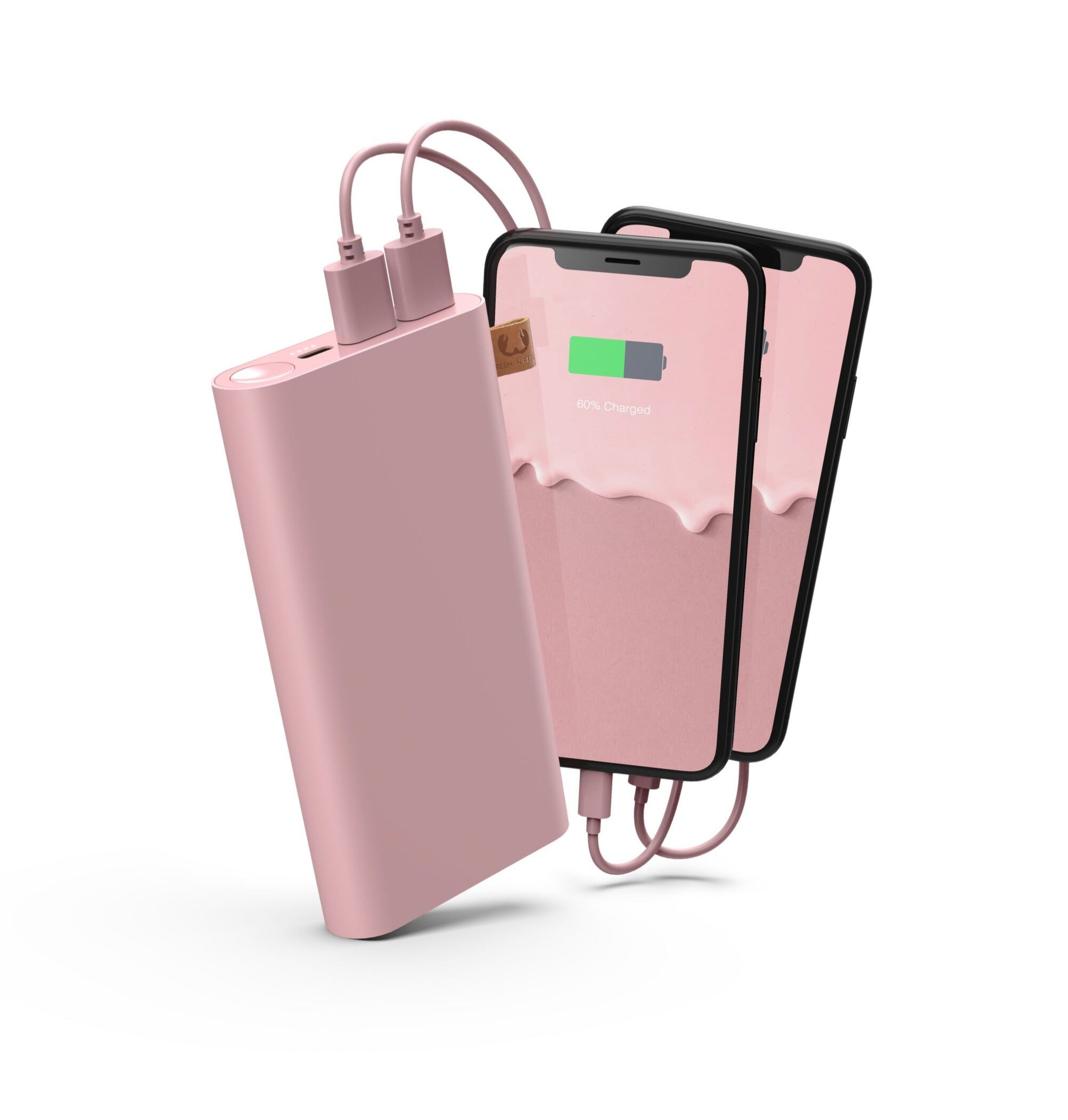FRESH 'N REBEL // Pink powebank