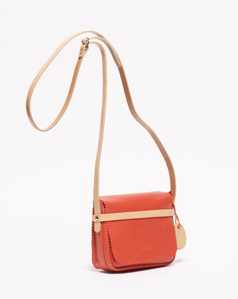 JACK GOMME // Soir Corail Shoulder Bag