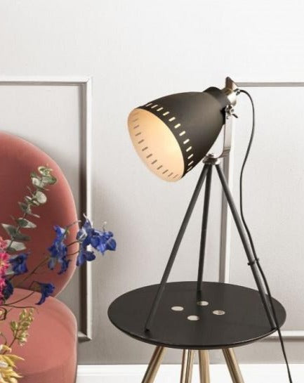 TABLE LAMP // Tripod Mingle Black